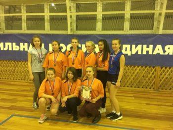 Команда Большеярковской школы.