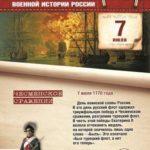 7 июля 1770 года — Чесменское сражение