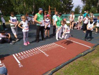 Фестиваль ВФСК ГТО среди лагерей с дневным пребыванием