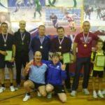 В районе прошел второй турнир по настольному теннису