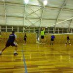 Первый этап соревнований по волейболу среди трудовых коллективов