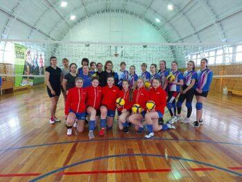 Рождественский турнир по волейболу среди жеских команд.