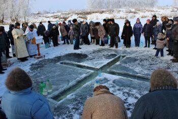 Меры безопасности при Крещенских купаниях.