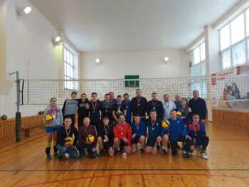 Рождественский турнир по волейболу среди мужских команд.