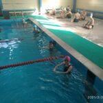 «Контрольные заплывы» юных пловцов.