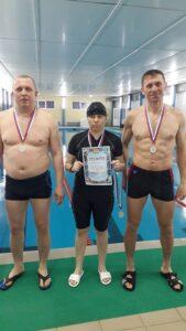 Соревнования по плаванию в зачет Спартакиады трудовых коллективов.