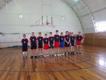Зональный этап соревнований по баскетболу в зачет XXIV Спартакиады общеобразовательных учреждений Тюменской области.