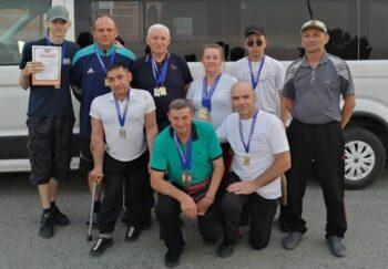 Члены сборной команды Казанского района стали победителями и призёрами ХХVI областной спартакиады инвалидов.