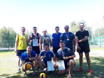 Итоги турнира по пляжному волейболу среди мужских команд.