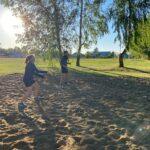 В Казанском районе стартовал Чемпионат по пляжному волейболу.