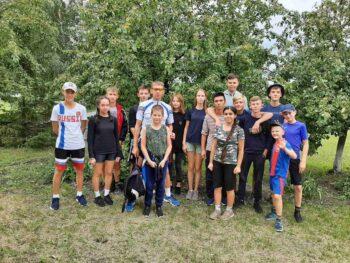 13 день летнего спортивно-оздоровительного лагеря.