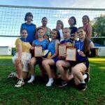 Итоги турнира по пляжному волейболу среди женских команд.