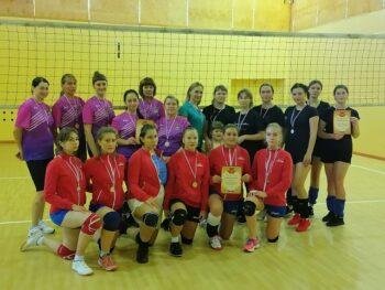 Турнир по волейболу среди женских команд.